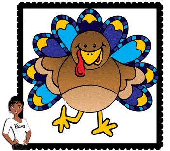 Clip Art~ Thanksgiving Turkeys 2