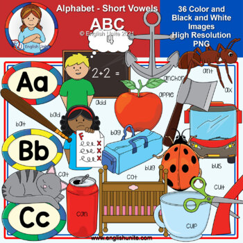 Clip Art - The Alphabet (ABC)