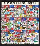 Clip Art - The Alphabet Mega Bundle