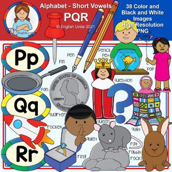 Clip Art - The Alphabet (PQR)