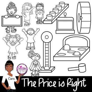 Clip Art~ The Price is Right Game Show Fun!