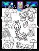 Clip Art~ The Rain's Buggin' Me (Spring Insects)