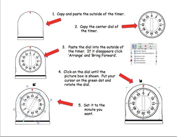 Clip Art - Timer in 5 Minute Increments