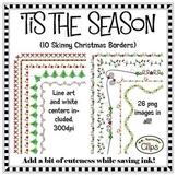 'Tis the Season Skinny Christmas Frames