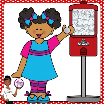 Clip Art~ Toy Machine Fun!