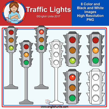 Clip Art - Traffic Lights