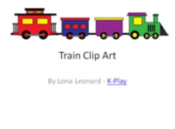 Clip Art - Trains