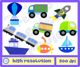 TRANSPORT Clip Art - Personal, Commercial and Mass Product
