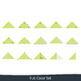 Geometry Clip Art: 7 Triangles – Commercial