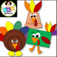 Turkey Crafts ● Turkey Clip Art ● Graphics ● Products for TpT Sellers