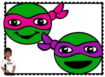 Clip Art~ Turtle Power!