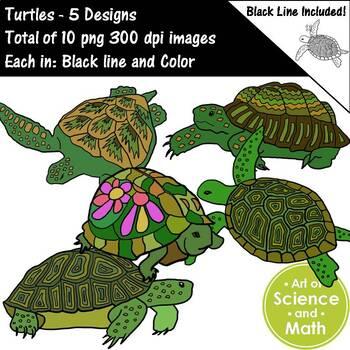 Turtles Clip Art