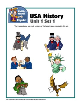 Clip Art USA History and Government Unit 1