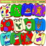 Clip Art Ugly Christmas Sweaters