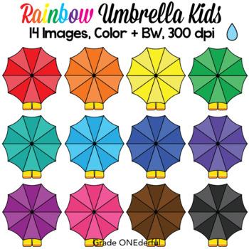 Umbrella Clipart, Boots and Umbrellas Clip Art