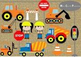 Under Construction Clip Art Set