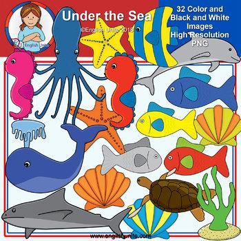Clip Art - Under the Sea