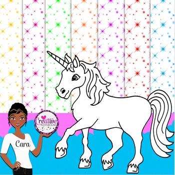 Clip Art~ Unicorn Design Kit