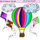 Clip Art Up Up and Away