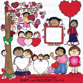 Clip Art VALENTINE KIDS