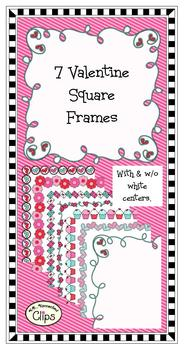Clip Art - Valentine  Frames