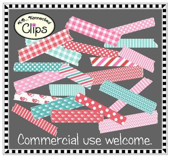 Clip Art - Valentine Washi Tape