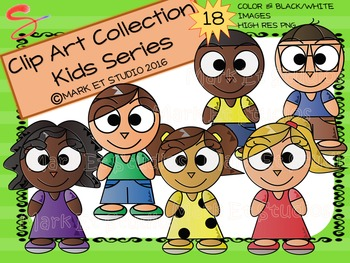 Clip Art - Graphics - Kids Series - Variety Pack