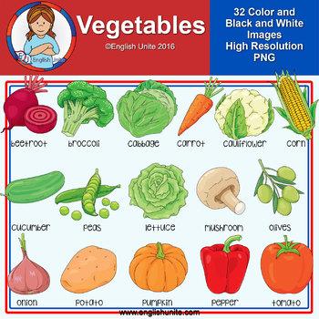 Clip Art - Vegetables
