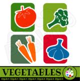 Clip Art Vegetables