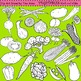 Clip Art Vegetables Combo
