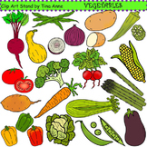 Clip Art Vegetables Combo