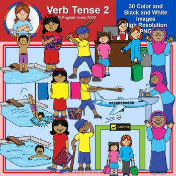 Clip Art - Verb Tense 2