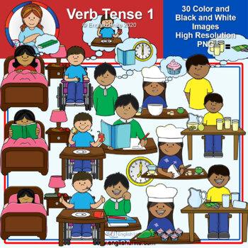 Clip Art - Verb Tense