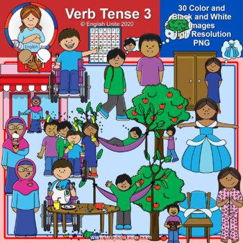 Clip Art - Verb Tense 3