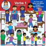 Clip Art - Verbs Pack 1