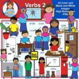 Clip Art - Verbs Pack 2