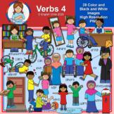 Clip Art - Verbs Pack 4