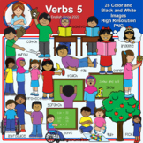 Clip Art - Verbs Pack 5