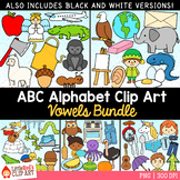 Vowels Clip Art Bundle