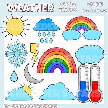 Clip Art: Weather