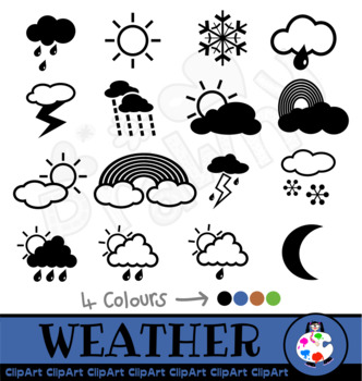 Clip Art Weather Icons