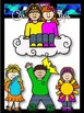 Clip Art~ Weather Kids