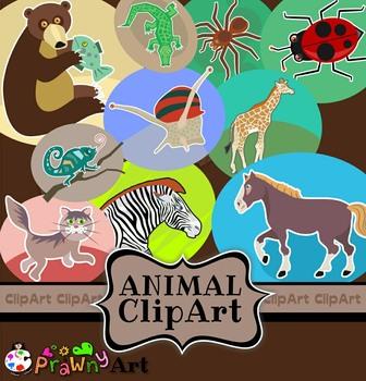 Clip Art Wild Animal Pack