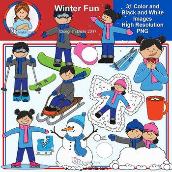 Clip Art - Winter Fun