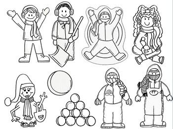 Clip Art~ Winter Whimsy