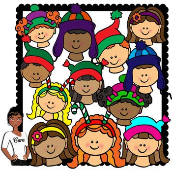Clip Art~ Winter and Christmas Kids