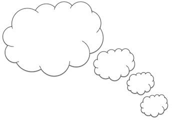 Clip Art Word Bubble Bundle!  {Set of 13!}