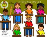 Clip Art: Writing Kids