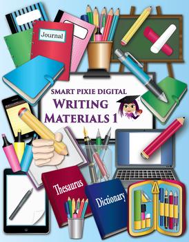 Clip Art- Writing Materials 1