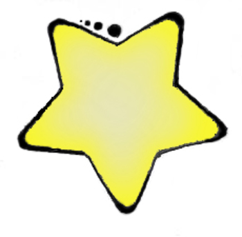 clip art yellow star by teaching to the 4th degree tpt rh teacherspayteachers com big yellow star clipart yellow star clipart free